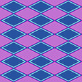 Purple and blue abstract pattern with rhombus