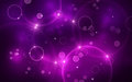 Purple Bokeh Royalty Free Stock Photography