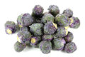 Purple Brussels sprout Royalty Free Stock Photo