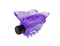 Purple butterfly sex toy isolated Royalty Free Stock Photo