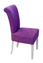 Purple chair Royalty Free Stock Photo