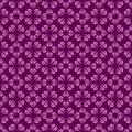 Purple colors clouds pattern korean traditional design series Stock Photography