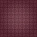 Purple colors damask style pattern design original and symbol series Stock Image