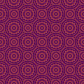 Purple colors geometry pattern korean traditional design series Royalty Free Stock Images