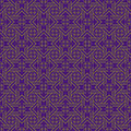 Purple colors geometry pattern korean traditional design series Royalty Free Stock Photo
