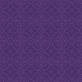 Purple colors round grid pattern korean traditional design series Stock Photos