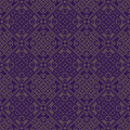 Purple colors square grid pattern korean traditional design series Royalty Free Stock Images