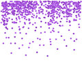 Purple Confetti Royalty Free Stock Photo