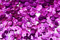 Purple confettis Stock Photo