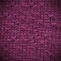 Purple Cotton Texture Royalty Free Stock Photography