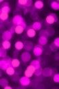 Purple defocused lights useful as a background blurs Stock Images