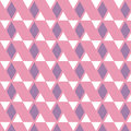 Purple diamond and white triangle pattern on pink background Royalty Free Stock Photo