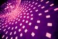 Purple disco ball Royalty Free Stock Photo