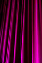 Purple Drop Curtain, 2016 Royalty Free Stock Photo