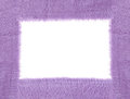 Purple fabric texture Royalty Free Stock Photo