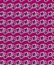 Purple Floral Seamless Pattern For Fabric Prints