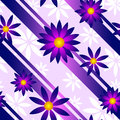 Purple flower background a seamlessly repeatable and pink Stock Images