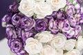 Purple Flower Bouquet Royalty Free Stock Photo