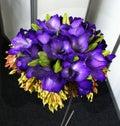 Purple Flowers Bouquet