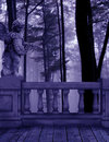 Purple Forest Gaurdian Royalty Free Stock Images