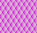 Purple geometric background, seamless, fine lines, diamonds, vector. Royalty Free Stock Photo