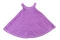 Purple girl dress.