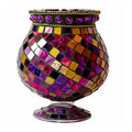 Purple goblet Stock Photo
