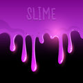 Purple Gooey Slime Stock Photos
