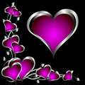 A Purple Hearts Valentines Day...