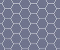 purple hexagon honeycomb pattern background Royalty Free Stock Photo