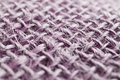 Purple jute fiber macro detail of fabric Stock Photography