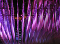 Purple led lights Royalty Free Stock Image