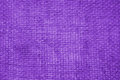 Purple linen fabric background Royalty Free Stock Photo