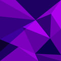 Purple low poly design element background