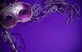 Purpurová nebo benátský na purpurová