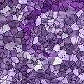 Purple Mosaic Background Stock Photo