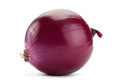 Purple onion on white Royalty Free Stock Photo