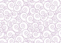Purple Pastel Spiral on white Vector Background Royalty Free Stock Photo
