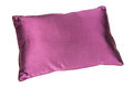 Purple pillow isolated on a white background Royalty Free Stock Images