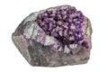 Purple quartz Royalty Free Stock Photo