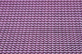 Purple roof of tiles pattern texture background Royalty Free Stock Photo