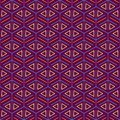Purple Seamless Pattern with Mesh Texture Stock Image