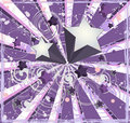 Purple Shooting Stars Background Royalty Free Stock Photos