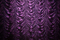 Purple silk curtain Royalty Free Stock Photo