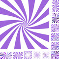 Purple spiral background set Royalty Free Stock Photo