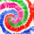 Purple Spiral Tie Dye Print. Green Swirl Watercolor Splash. Fuchsia Aquarelle Texture. Mauve Dirty Art Graffiti. Yellow Hippie Bac Royalty Free Stock Photo
