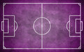 Purple street soccer field in grunge style football field ready for edit Royalty Free Stock Photos