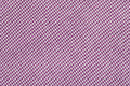 Purple tartan pattern, checkered  fabric Royalty Free Stock Photo