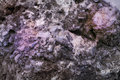 Purple texture of natural rock