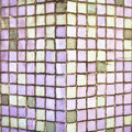 Purple tiles Stock Photo
